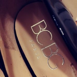BCBG Shoes - BCBG Peep Toe Shoes